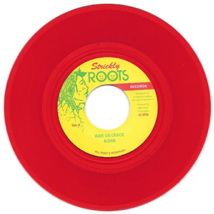 Aisha - War On Crack / Robbie Lyn & Earl 'Chinna' Smith - Version (Strickly Roots / Archive) 7""